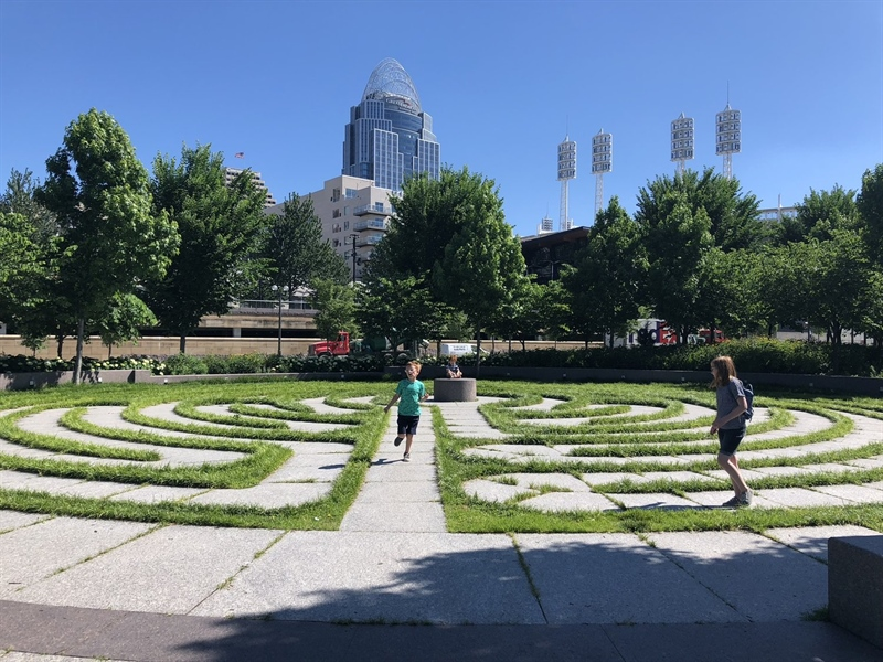 Week 3 - Labyrinth at Smale Park